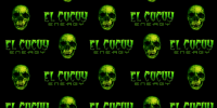 El Cucuy Energy black media wall step and repeat