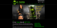El Cucuy Energy website screenshot