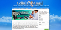 Cellular Angel website screenshot