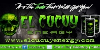 El Cucuy Energy 5 x 3 ft Banner
